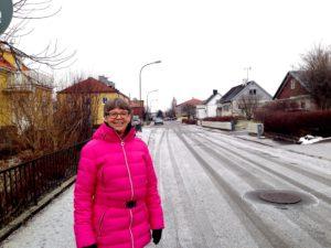 Ingalill på mammas gata