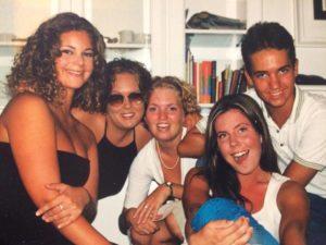 Tiden i Spanien var en rolig tid. Hon arbetade, lärde sig spanska och skaffade vänner.