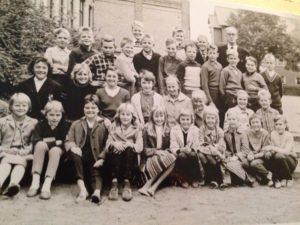 Klass 6 B folkskolan i Ängelholm