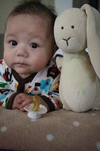 Bilden på Dante som bebis tog oss alla med storm. Nu är han sex år men kallar sig fortfarande för Myshumlan.